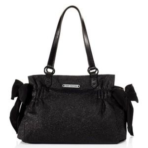 Juicy Couture- Black Stardust / Glitter Handbag